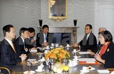 Prime Minister meets Dutch leaders