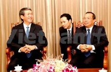 Popularisation commission heads to Laos