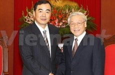 Party leader receives Chinese Ambassador
