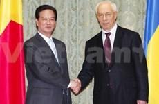 Vietnam, Ukraine issue joint communiqué