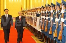 Vietnamese Party leader begins China visit