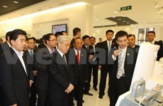 Party leader Trong ends China visit