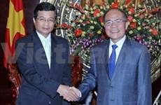 NA Chairman receives Lao, Japanese ambassadors