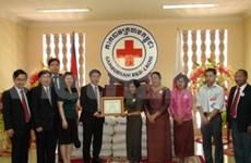 Vietnam helps Cambodian flood victims