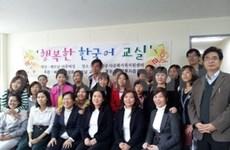Vietnamese brides learn RoK language, culture