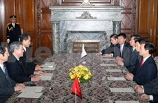 Prime Minister Dung meets Japanese leaders