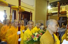 Art programme held to celebrate Buddhism