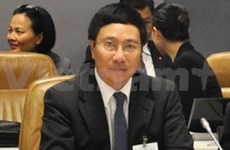 Foreign Minister meets Malaysian, Myanmar counterparts