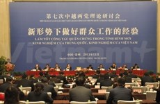 VN, Chinese Parties hold theoretical talks