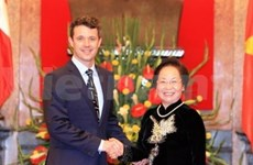Danish Crown Prince welcomed in Vietnam