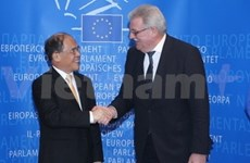 NA Chairman attends VN-EP interparliamentary dialogue