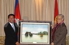 Party General Secretary active in Cambodia
