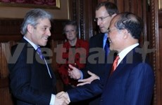 National Assembly Chairman continues UK visit
