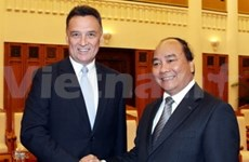Deputy PM receives Australian trade minister