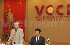 Party chief highlights entrepreneurs' role