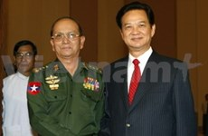 PM Dung begins official visit to Myanmar