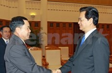 PM welcomes Lao Security Minister
