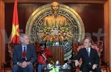 Legislative leader receives Danish ambassador