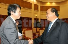 Japanese minister vows to boost judicial ties