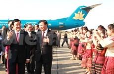 President Sang concludes Laos visit