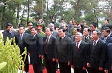 President tours Thanh Hoa province
