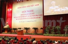 National conference on Party building work opens