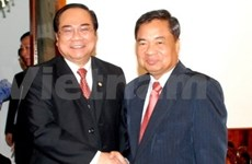 VN, Lao Red Cross promote cooperation