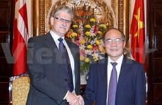 NA Chairman welcomes Danish counterpart