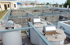 Netherlands funds city's waste water treatment