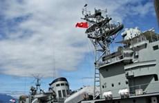 Myanmar destroyers dock in Da Nang