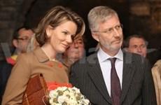 Belgian Crown Prince on visit