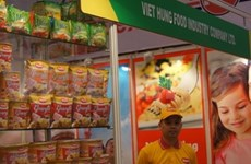 VN business exhibits at India food fair