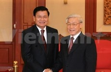 Leaders pledge even stronger bond with Laos