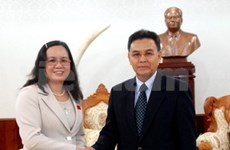 Vietnam NA delegation visits Laos