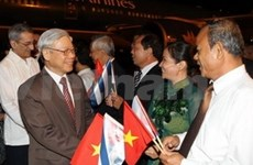 Cuban media focuses on Party leaders visit