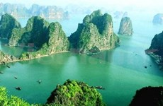 Ha Long tourist boats receive GPS systems