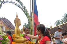 Lao New Year celebrated in Vietnam