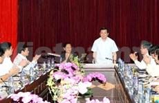 President meets with Dien Bien's officials