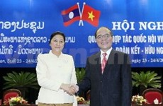Lao, VN legislative bodies seek stronger ties