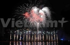 Italy wins fireworks competition in Da Nang