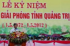 Quang Tri celebrates 40 years since liberation
