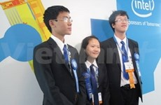 VN students win int'l science-technology prize