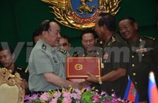 Cambodia, China sign military cooperation pact