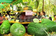 Annual fruit festival juices up HCM City