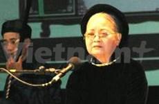 Famous Ca Tru singer to treat Hanoi audience
