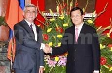 Vietnam, Armenia agree to bolster ties