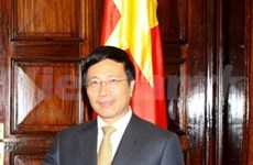 Vietnam's Foreign Minister visits Luxembourg