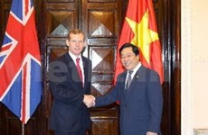 Bilateral relations grow with UK