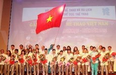 Vietnam's athletes leave for London Olympics
