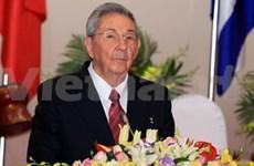 Cuban leader concludes Vietnam visit